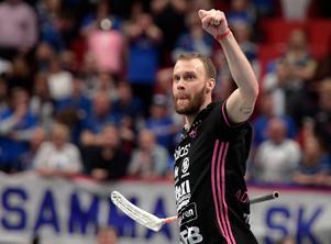 Jonas Adriansson slog till med tre mål mot Örebro. Foto: Anders Wiklund/TT
