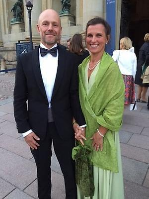 Klas och Jessica Sannö. Foto: Länsstyrelsen