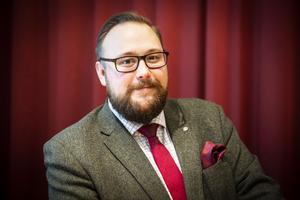 Jonas Andersson från Ammer är kommunalråd i opposition i Ragunda kommun.