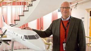 Lars-Erik Wige är Senior Advisor på Saabs huvudkontor numera.