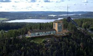 Det finns ännu inga konkreta planer på att nuvarande restaurangen uppe på Varvsberget ska ersättas med ett hotell men det är en vision från kommunen. Bild: Örnsköldsviks kommun