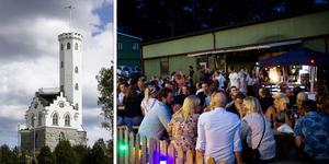 Östra berget i Söderhamn kommer i sommar att förvandlas till en nattklubb.