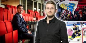 Hockeypuls redaktör Andreas Hanson om beskedet att Mats Pernhem lämnar posten som klubbdirektör i SSK. Foto: Bildbyrån/Mittmedia