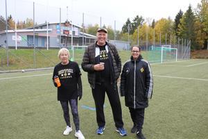 Mona Pettersson, Michael Lindmark och Linda Nyberg. Foto: Bengt Agemark