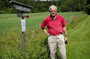 Miljö, kultur och historia. Gotthard Sennblad har skrivit informativa texter som gör vandringen lärorik.