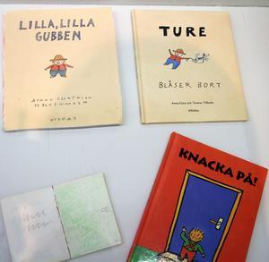 Böckerna om Ture och Knacka på hör till Anna-Clara Tidholms mest älskade böcker för små barn.