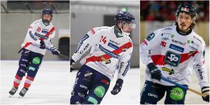 Ted Hedell, Marcus Persson och Matteus Liw kan bli utlånade till allsvenskan den här säsongen.