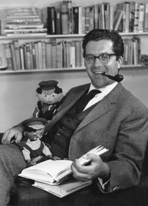 Michael Ende 1962. Foto: Christine Meile