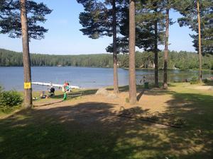 Arkivbild: Anders Staffas.Stångtjärn är ett av kommunens populära bad där kontroll ännu ej har skett.