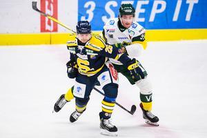 David Berg visade goda intentioner när han anslöt till SSK från AIK under förra säsongen. Foto: Bildbyrån