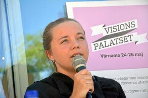 – Flödet från fik och restauranger är viktigt även för centrumhandeln, sa Amanda Sjögren från  Stigs Café.