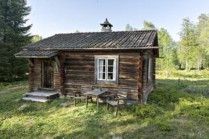 Forsbodarna fäbod hör till Djura församling och har anor tillbaka till mitten av 1600-talet. Mycket av den äldre bebyggelsen finns ännu bevarad men det finns även en del nya inslag i området. Foto: Diakrit/Eric Böwes.