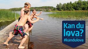 Vid Muskan i Ösmo ska det finnas en bra badplats. Det anser alla partier som har svarat i NP:s valtjänst #kandulova.Foto: Gunnar Jacobsson