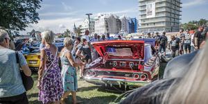 American Car Show brukar varje år locka någonstans mellan 13.000 och 18.000 besökare till Norrtälje.