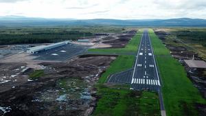 Flygplats Sälen är snart klar och insändarskribenten är kritisk till att projekt