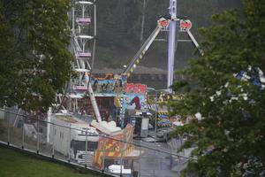 För den åksugne finns tivoli både på Sorbon-parkeringen och intill pendeltåget.