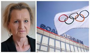 Kommunstyrelsens ordförande Boel Godner (S) har ställt sig positiv till att Sverige arrangerar OS 206, där Scaniarinken ska ta hand om delar av ishockeyturneringen. Foto: Arkivbild