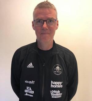 Tony Bertilsson, ny huvudtränare. Foto: Sala Silverstadens facebook