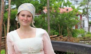 Elin Söderholms glänste i rollen som Anna-Stina i Björkö teaters