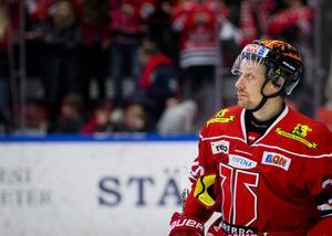 Marcus Weinstock ser fram emot SM-slutspelet med Örebro Hockey. Bild: Johan Bernström/Bildbyrån