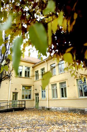 Hammarby skola töms på elever till hösten när nu även lågstadiet flyttar.