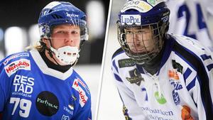 Robin Öhrlund och Joel Broberg är nya namn i truppen. Foto: Andreas Tagg/Peter Axman.