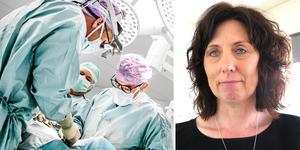 Helena Björkman, divisionschef på kirurgin.