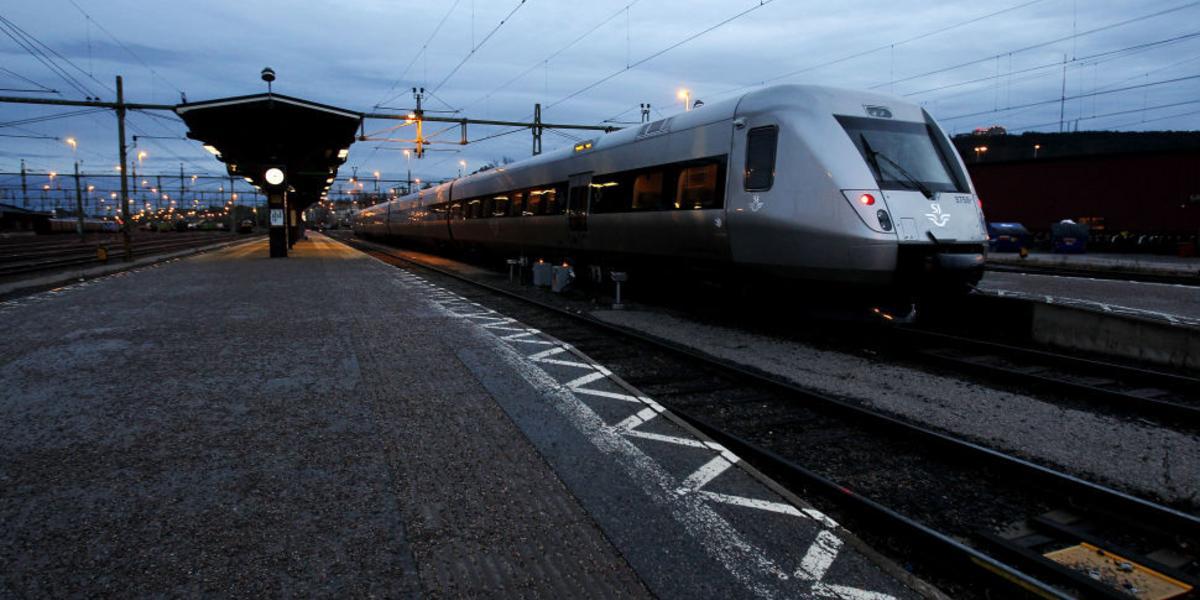 beslag för tåg