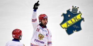 Enligt uppgifter närmar sig AIK den ryske storstjärnan Alan Dzhusoevs underskrift. Bild: Janerik Henriksson/TT