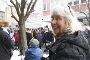Viveka Högberg gläds över engagemanget i Hudiksvall.