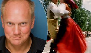 Peter Johansson om kulturarvet. Foto: Per Johnsson/TT.