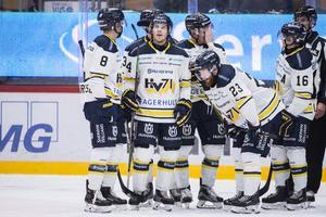 HV71 hade en tung kväll och förlorade med 2-6 mot Färjestad. Bilden är från en tidigare match.
