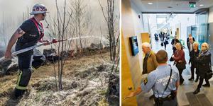 På den sjätte dagen av den så kallade brandrättegången var det dags för företrädare från räddningstjänsten att vittna.             Arkivbild: Niklas Hagman