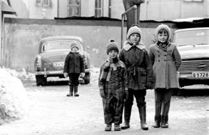 """""""Blygisen som inte får vara med"""", säger Berth om bilden han tagit på Torekällgatan."""