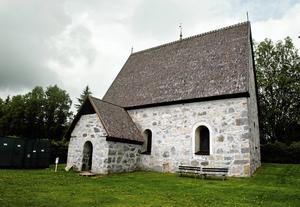 Lidens gamla kyrka.