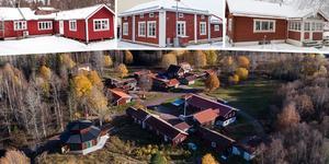 Ett montage med några av husen på 2019 års första Klicktoppen, för Dalarnas del. Fler bilder följer här nedanför.