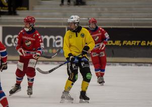 William Larsson gjorde sitt första mål för Broberg.