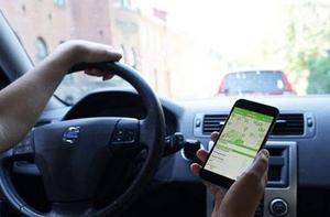 Betala din parkeringsavgift med hjälp av en app. Foto: Arkivbild