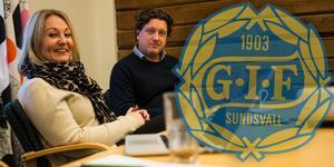 Sara Nilsson och Peter Nyh på GIF Sundsvalls marknadsavdelning, berättar hur Giffarna med små medel lyckats göra stor nytta.