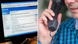 En Härnösandsbo blev uppringd av en person som erbjöd sig rensa datorn från virus.