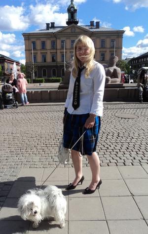 Lisa Rönnblom hänger inte på någon särskild trend.