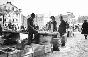 Kommer det att se ut så här på Länsmuseets historiska matmarknad? Bild: Länsmuseet Gävleborg