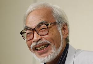 Den japanske filmskaparen Hayao Miyazaki vann bland annat en Oscar för