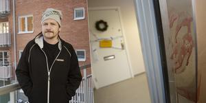 Jonte Eriksson bor i kvarteret på Söder som spärrades av under onsdagskvällen.