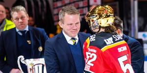 Svenska Ishockeyförbundets ordförande Anders Larsson var först tyst om Damkronornas bojkott. Foto: Bildbyrån.
