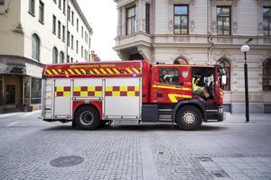 Räddningstjänsten larmades till Nybrogatan i centrala Sundsvall.