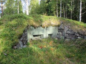 Kulsprutevärn vid Fulunäs norr om Sälen. Foto: Jan Erik Ohlsson