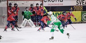 Edsbyn höll defensiven supertajt hela matchen, inte minst burväktare Anders Svensson.