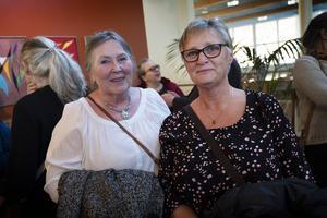 Marianne Hansson från Ljustorp kom till konserten med Annelie Gunnarsson från Sundsvall.