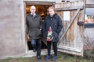 Annettes och Per- Olovs retrobutik ligger i en gammal ladugård i Björsjö.